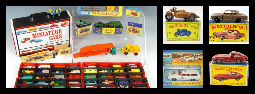 Vintage Lesney Matchbox Toy Cars Diecast Bergen Pickers Buyers Collectors